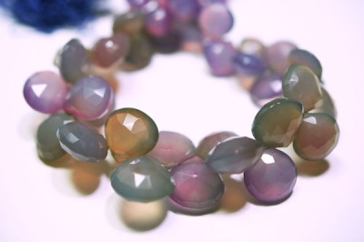 Faded Dyed Chalcedony