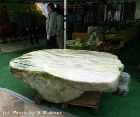 Enormous natural table