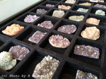 Druzy stones